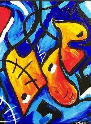 MIDNIGHT BLUE by Felix  Borin