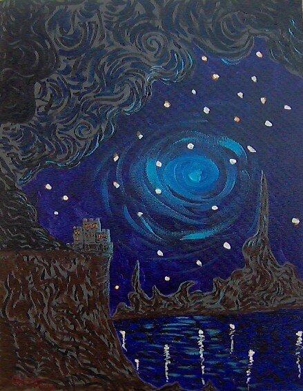 BLUE MOON CASTLE by Felix  Borin