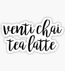 Venti Chai Latte Sticker