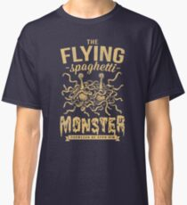The Flying Spaghetti Monster (dark) Classic T-Shirt