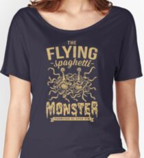 The Flying Spaghetti Monster (dark) Women's Relaxed Fit T-Shirt