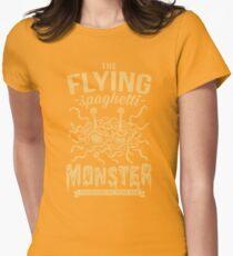 The Flying Spaghetti Monster (dark) Womens Fitted T-Shirt