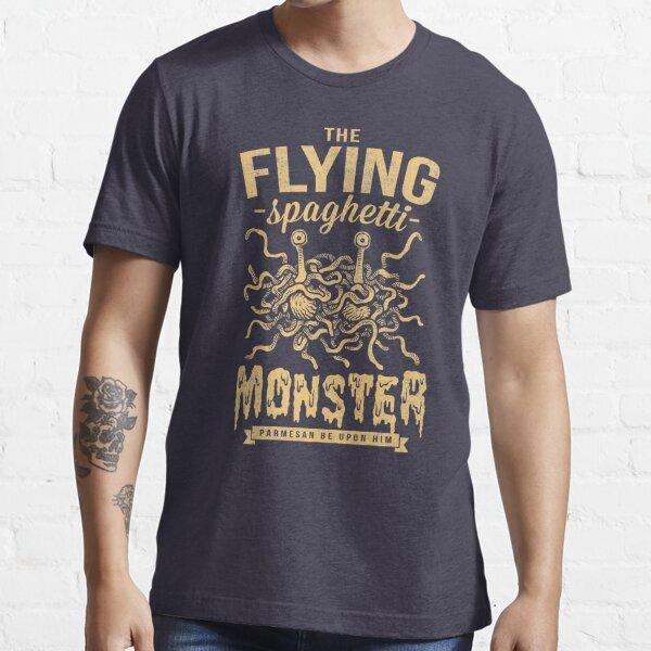 The Flying Spaghetti Monster (dark) Essential T-Shirt