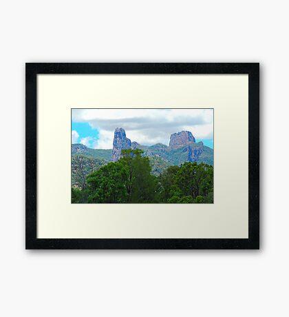 Warrambungle Morning, Warrambungles National Park NSW Australia Framed Print
