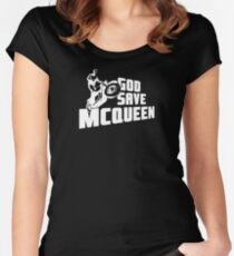 God Save McQueen Women's Fitted Scoop T-Shirt