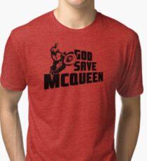 God Save McQueen Tri-blend T-Shirt