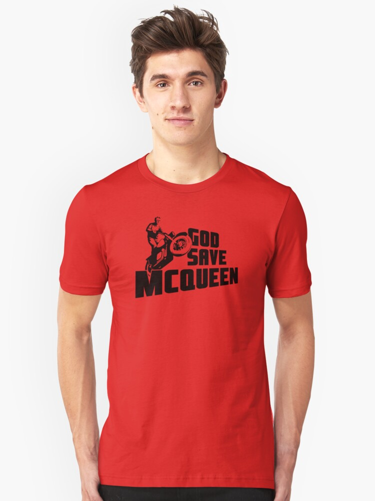 God Save McQueen Unisex T-Shirt Front