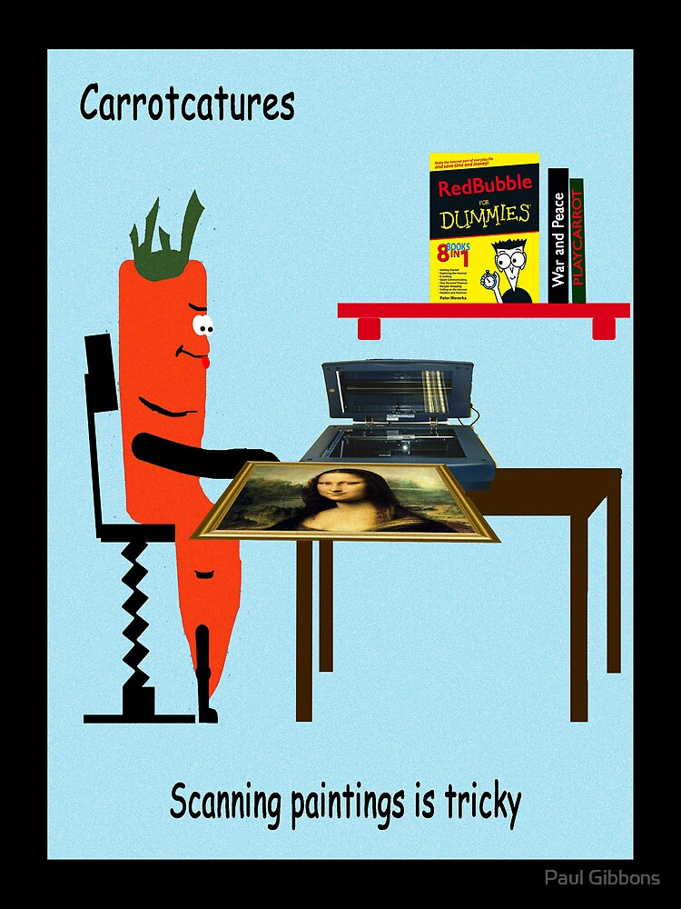 Carrotcature 8 by Paul Gibbons
