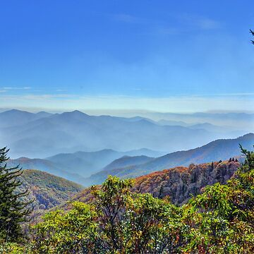 Blue Ridge Mountains by venny
