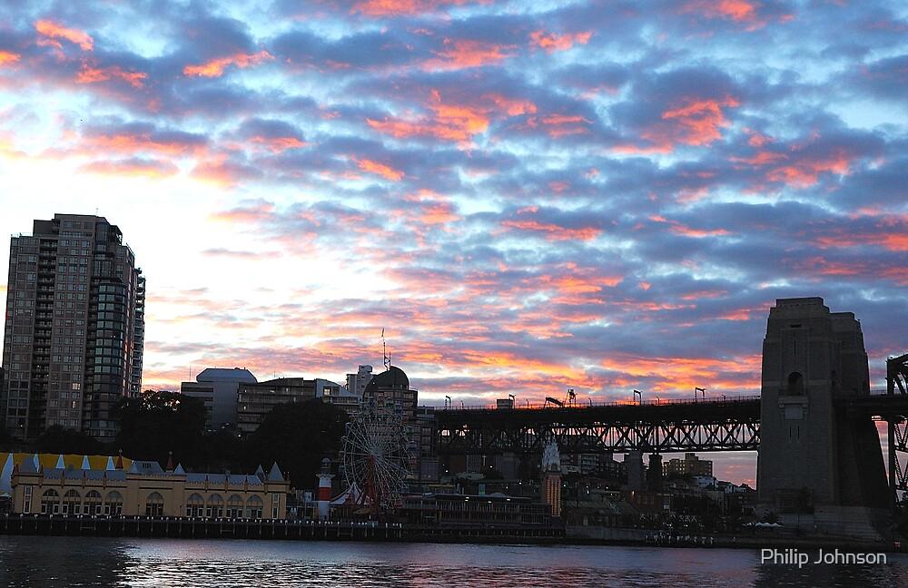 Kirribilli Cotton Candy - Sydney Harbour by Philip Johnson