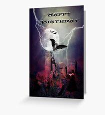 Goth birthday cards greeting cards redbubble happy birthday greeting card bookmarktalkfo Gallery