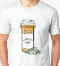 Purrozac Perscription Unisex T-Shirt