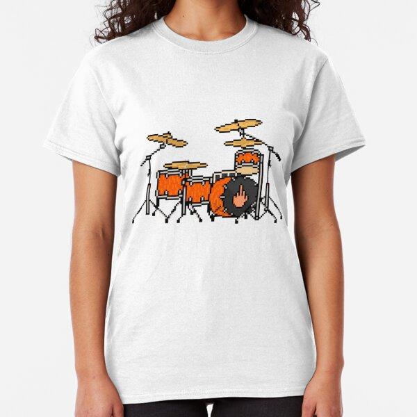 T-Shirt DRUMMER Evolution Schlagzeug Band Trommler drum brushes