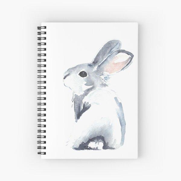 Moon Rabbit I Spiral Notebook
