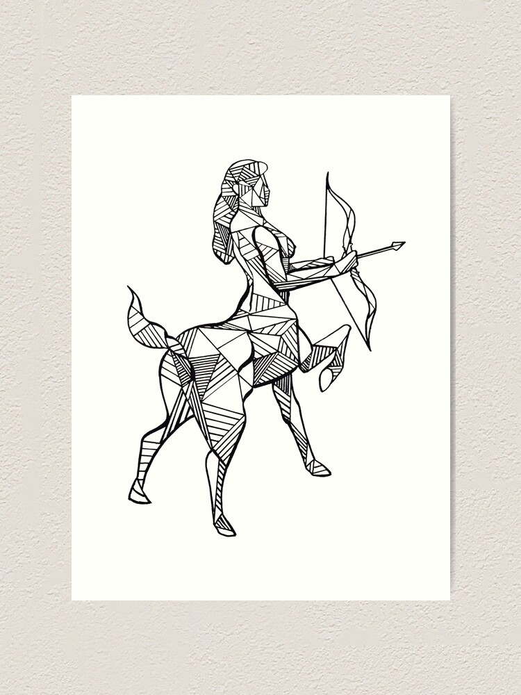"""Sagittarius"" Art Print by casandras-art   Redbubble"