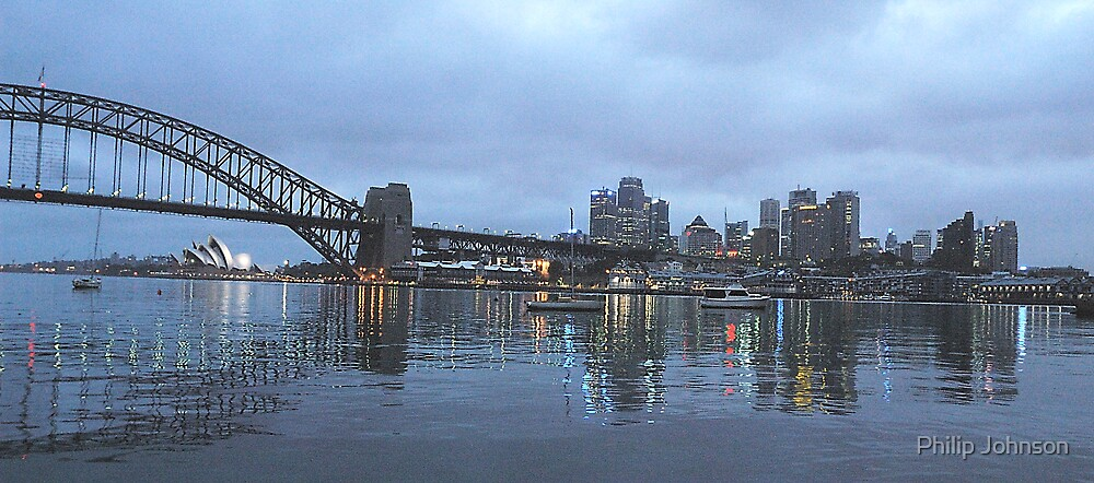 Reflections of Sydney, Sydney Harbour by Philip Johnson