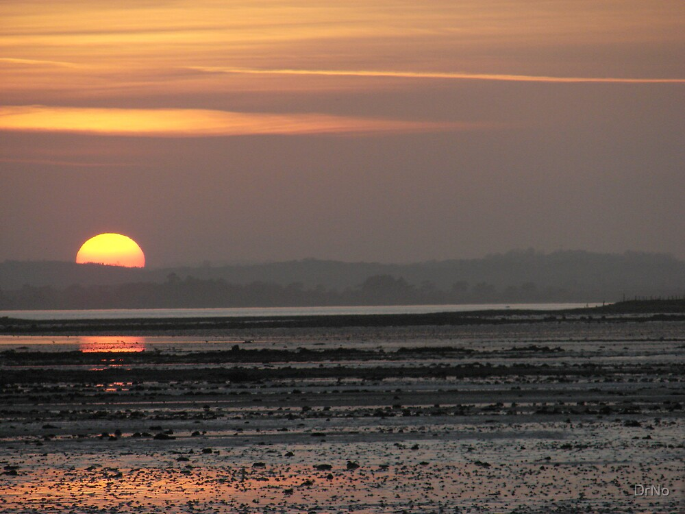Greyabbey Sunset by DrNo