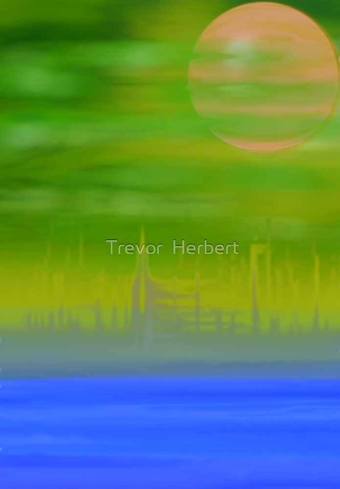 in the green by Trevor  Herbert