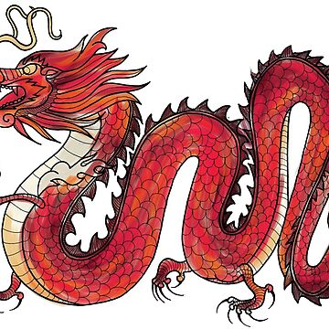 Oriental Red Dragon by Sloosh