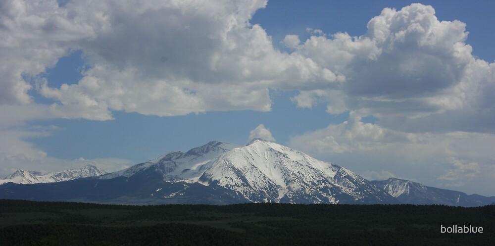 Powerful Mt. Sopris by bollablue