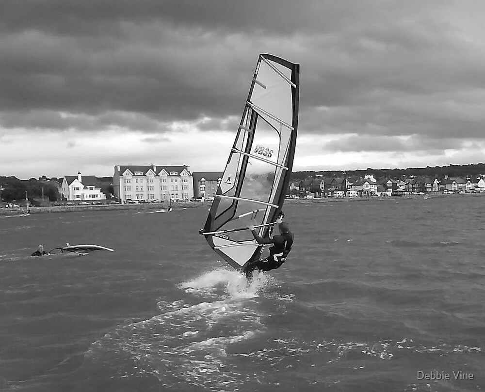 Windsurfer 1 by Debbie Vine