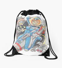 Yobeeno Cosmic Girl Drawstring Bag