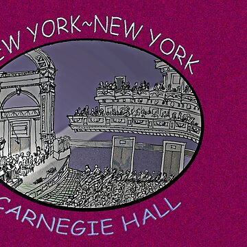 NYC-Carnegie Hall by JamesLHamilton