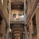 Vintage hallway - HDR photo by wildrain