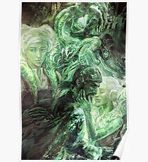 Green Healing Light Poster