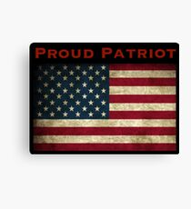 Proud Patriot Canvas Print