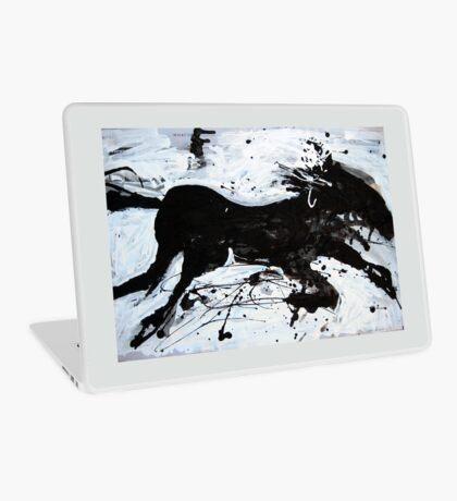 Black Horse 2 Laptop Skin