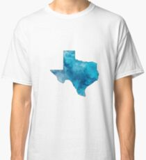 Texas Watercolored Classic T-Shirt