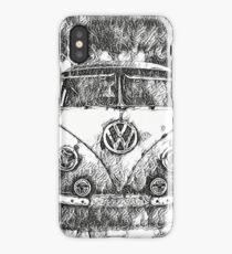VW Camper Tattoo design iPhone Case/Skin