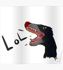 Microraptor LOL Poster