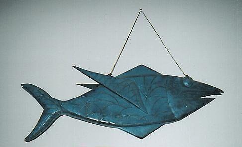 Big blue fish by Dave Bradley