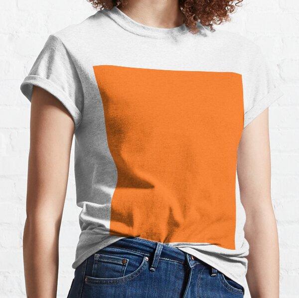 Pumpkin Orange Classic T-Shirt