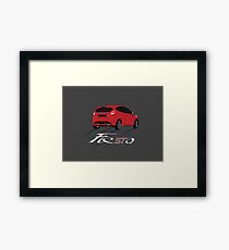 Fiesta ST Framed Print