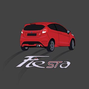 Fiesta ST by AutomotiveArt