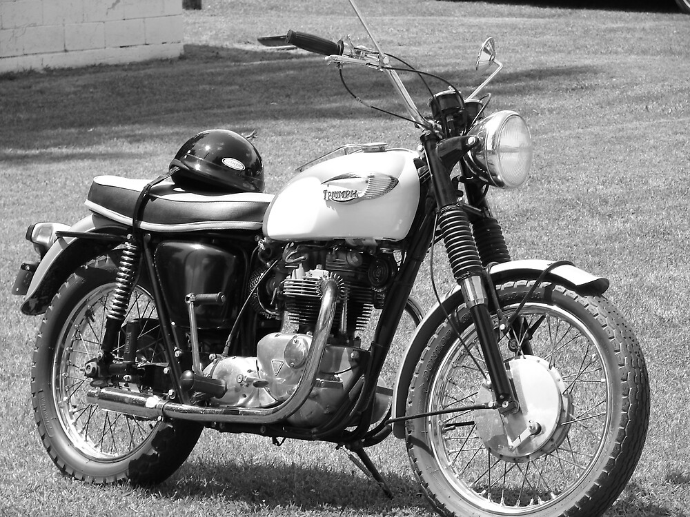 Motorcycle by inventor