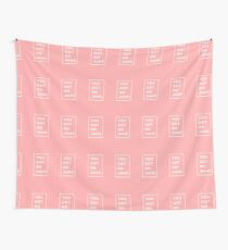BTS / Bangtan Sonyeondan - Du hast keine Marmeladen (Pink) Wandbehang