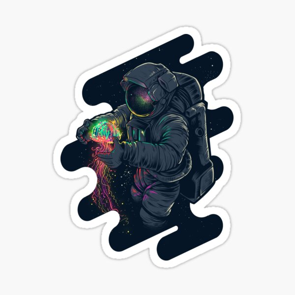 New Jellyspace Sticker