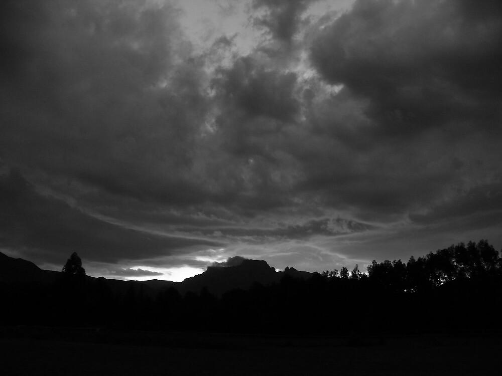 Moody African Sky by Matthew Weaver