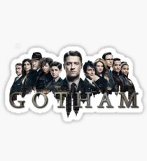Diseño Logo Gotham Sticker