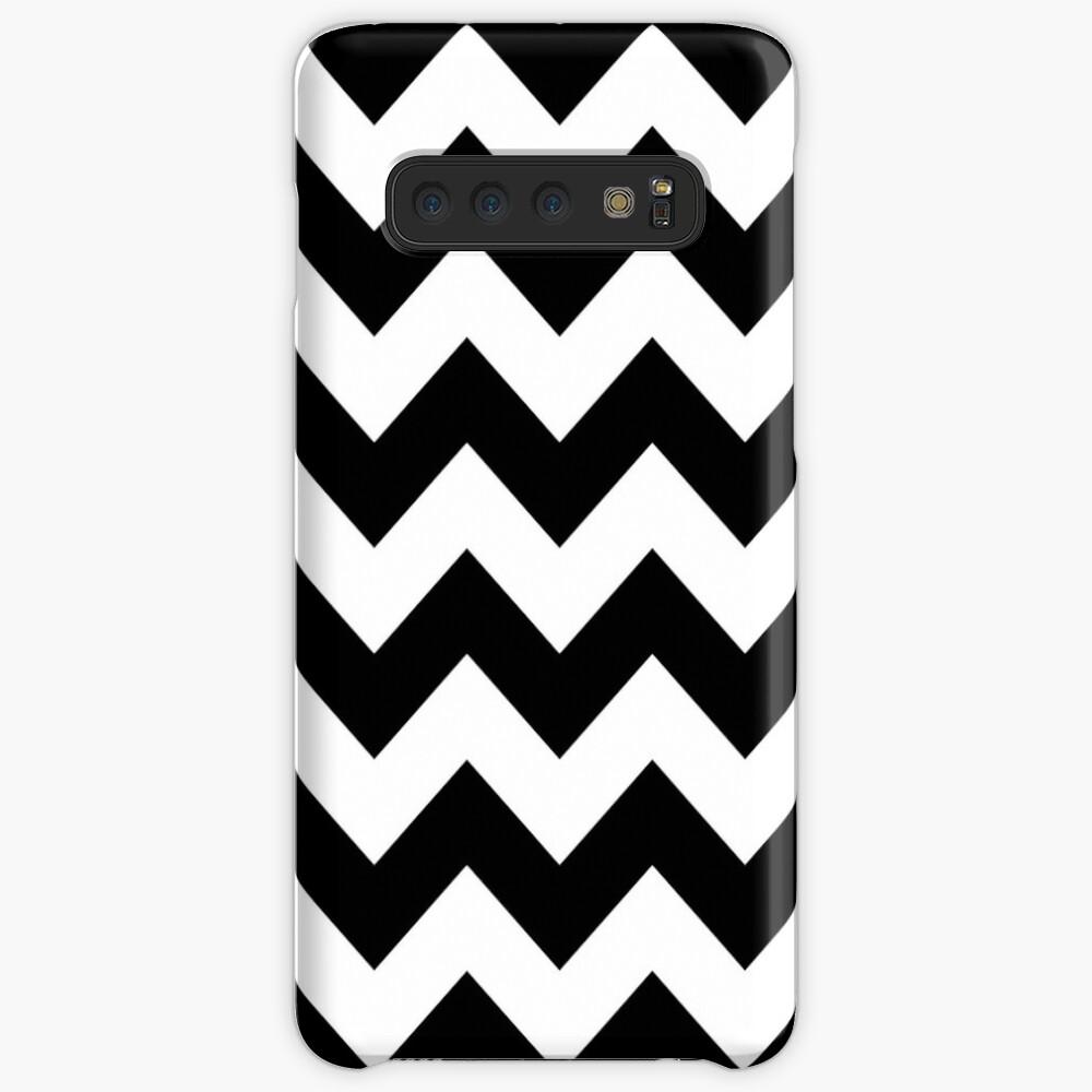 Schwarze Lodge - Twin Peaks Hülle & Klebefolie für Samsung Galaxy