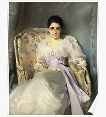 John Singer Sargent - Lady Agnew Of Lochnaw (1865 - 1932) Poster