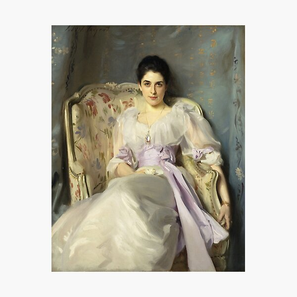 John Singer Sargent - Lady Agnew Of Lochnaw  Photographic Print