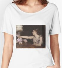 John Singer Sargent - Madame Gautreau Drinking A Toast Women's Relaxed Fit T-Shirt
