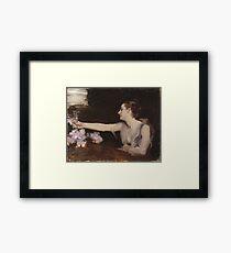 John Singer Sargent - Madame Gautreau Drinking A Toast Framed Print