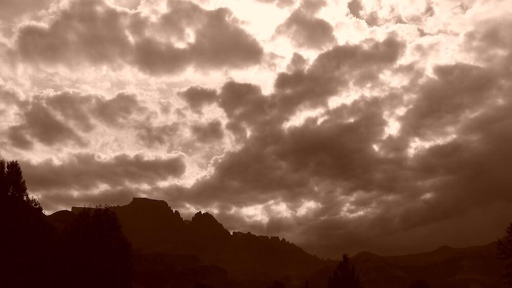 Sepia Sky by Matthew Weaver