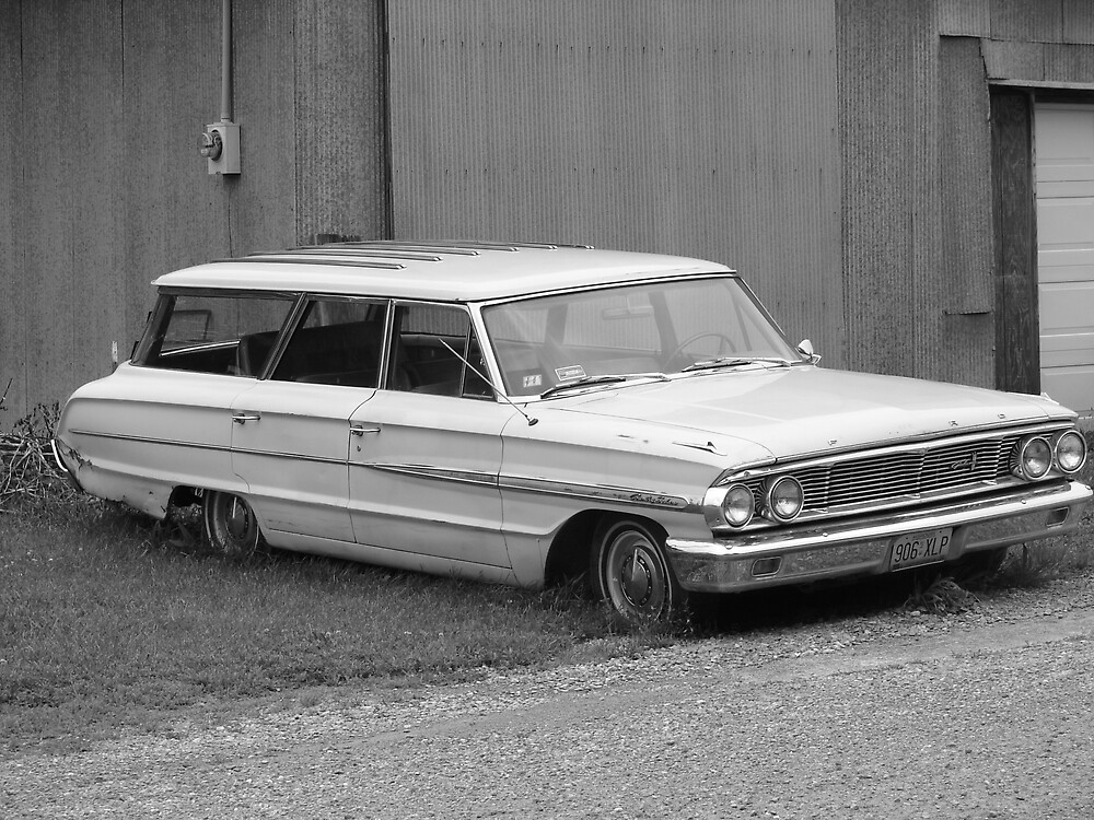 Old Station Wagon by inventor